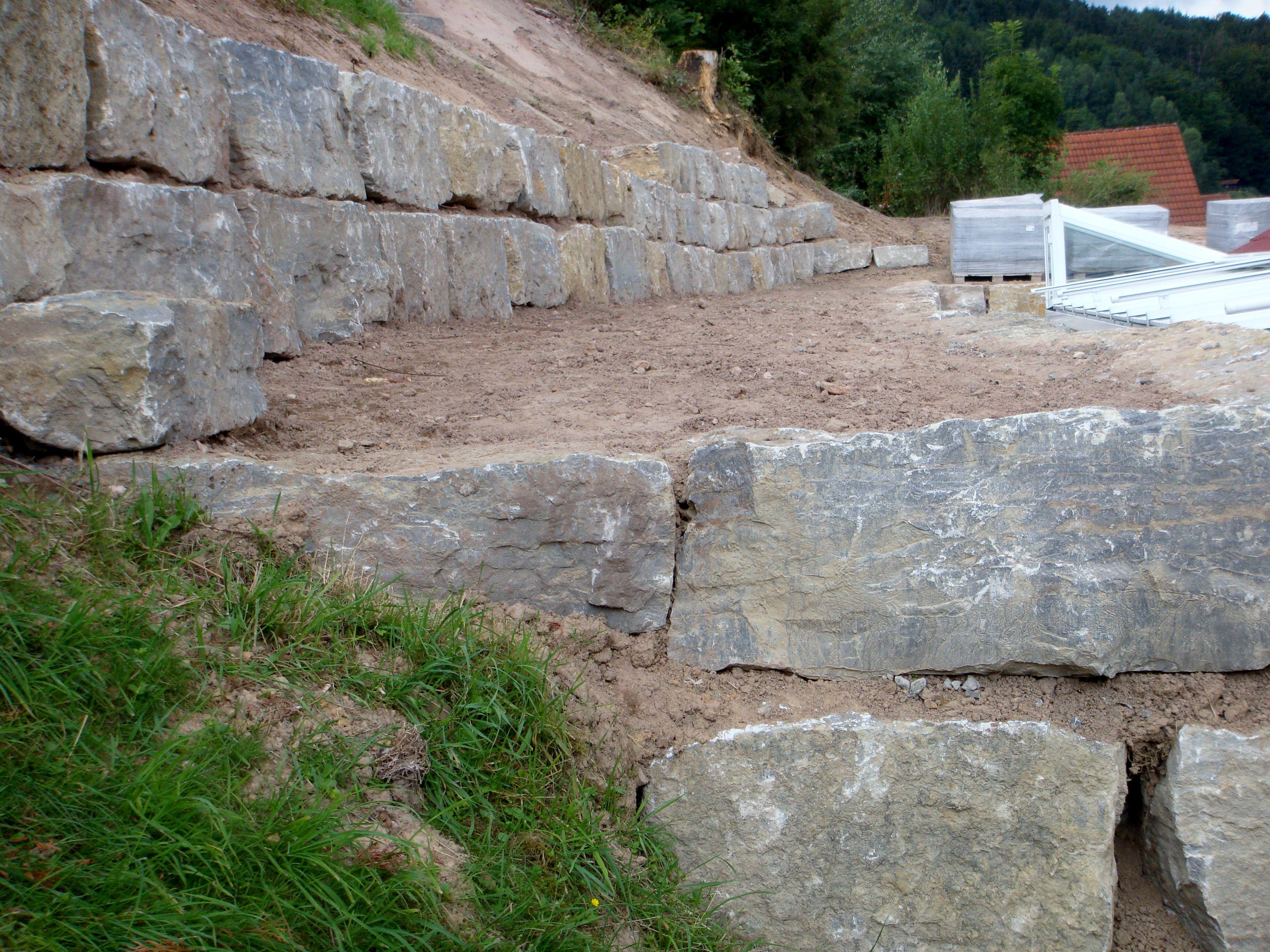 Hangsicherung Klaus Dill Natursteine Und Aussenanlagen