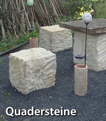 Quadersteine